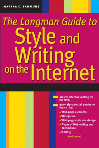 9780205576296: Longman Guide to Style and Writing on the Internet, The (2nd Edition)