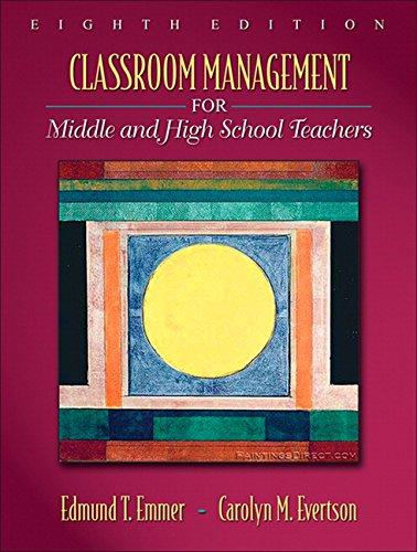 9780205578603: Classroom Management for Middle and High School Teachers (8th Edition)
