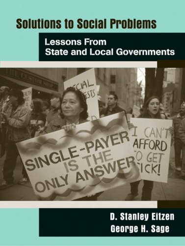 9780205578733: Solutions to Social Problems: Lessons from State and Local Government