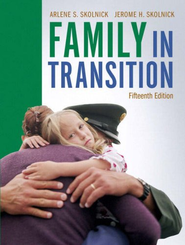 9780205578771: Family in Transition (15th Edition)