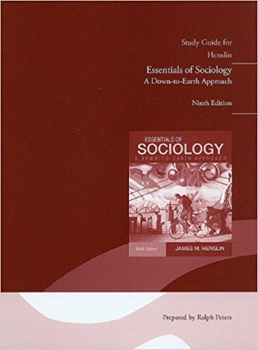 9780205578924: Study Guide for Essentials of Sociology: A Down-to-Earth Approach