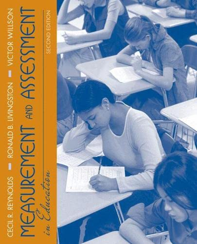 9780205579341: Measurement and Assessment in Education