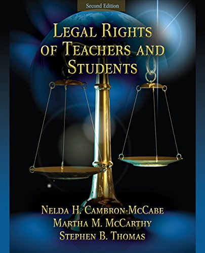9780205579365: Legal Rights of Teachers and Students (2nd Edition)