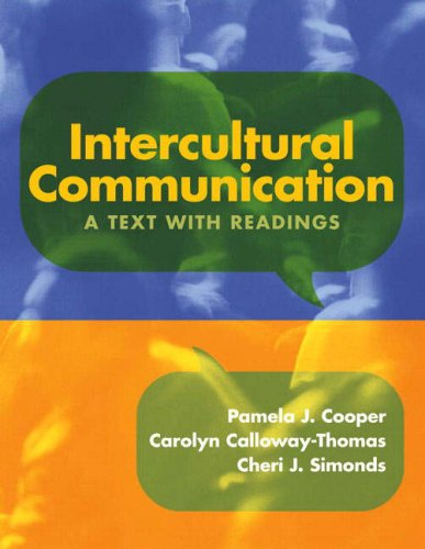 9780205579464: Intercultural Communication: A Text with Readings