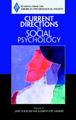 9780205579471: Current Directions in Social Psychology (Readings from the American Psychological Society)