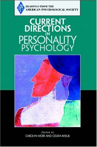 9780205579532: Current Directions in Personality Psychology (Readings from the American Psychological Society)