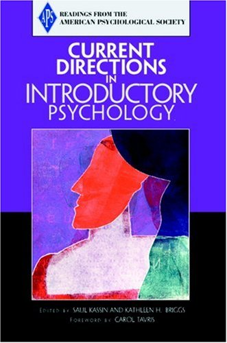 9780205579570: Current Directions in Introductory Psychology