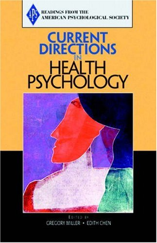 9780205579587: Current Directions in Health Psychology (Readings from the American Psychological Society)