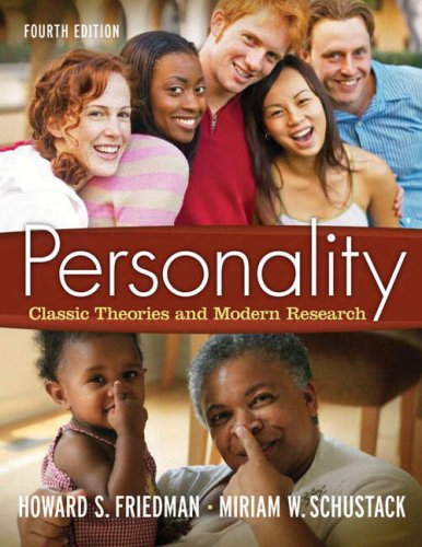 9780205579686: Personality: Classic Theories and Modern Research (4th Edition)