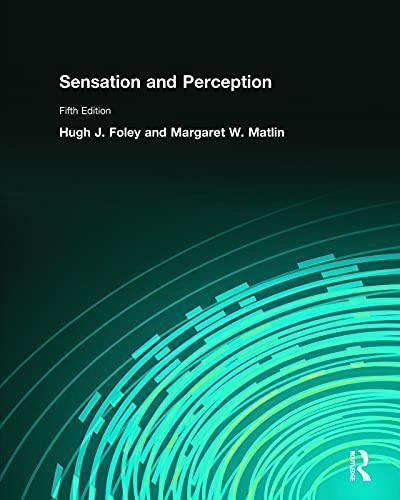 9780205579808: Sensation and Perception