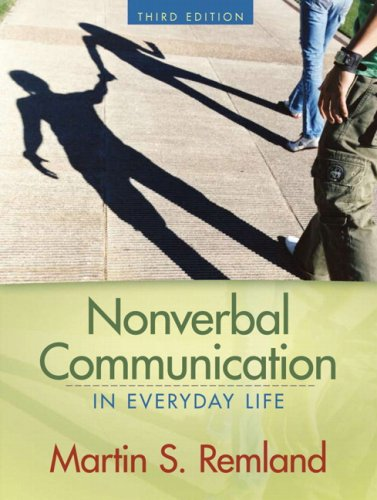 9780205582198: Nonverbal Communication in Everyday Life (3rd Edition)