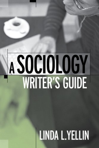 9780205582389: A Sociology Writer's Guide