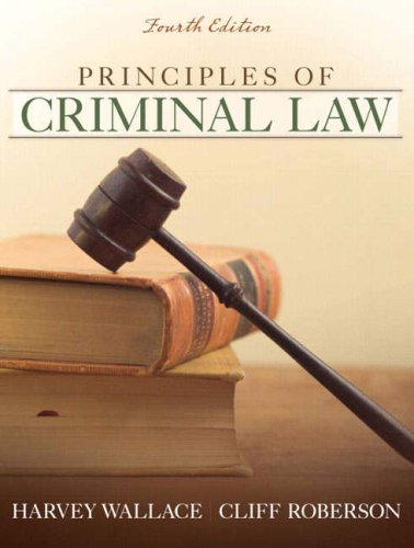 9780205582570: Principles of Criminal Law (4th Edition)