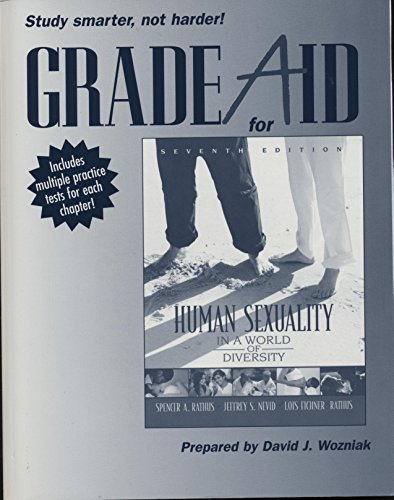 9780205582600: Grade Aid for Human Sexuality in a World of Diversity: Workbook