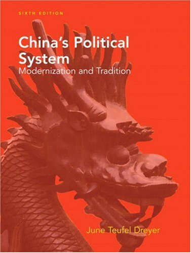 9780205583386: China's Political System (6th Edition)