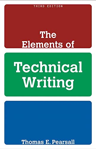 9780205583812: The Elements of Technical Writing (3rd Edition)
