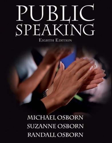 9780205584567: Public Speaking (8th Edition)