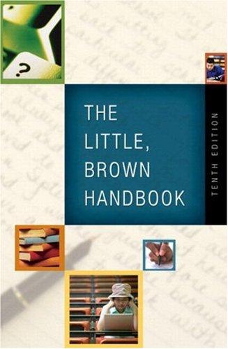 9780205585748: The Little, Brown Handbook