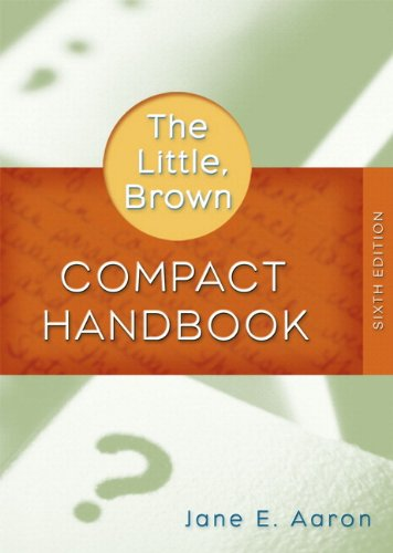 9780205585755: Little, Brown Compact Handbook, The (with What Every Student Should Know About Using a Handbook) (6th Edition)