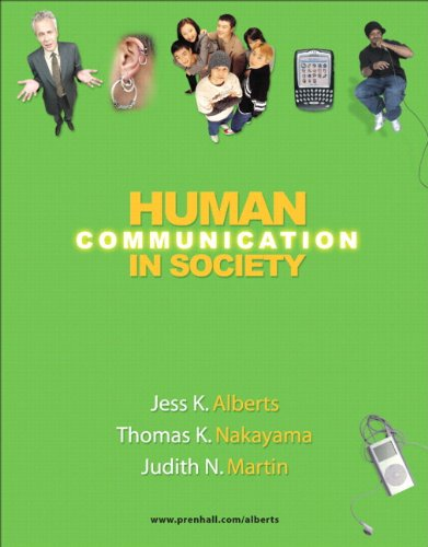 9780205586981: Human Communication in Society (with MyCommunicationLab)