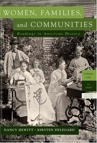 9780205587902: Women, Families and Communities, Volume 2 with Women, Families and Communities, Volume 1 (2nd Edition)