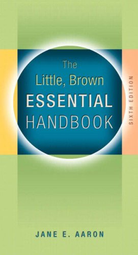 9780205591411: Little, Brown Essential Handbook (6th Edition)