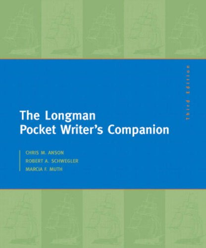 9780205591428: Longman Pocket Writer's Companion, The (3rd Edition)