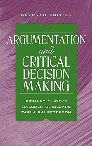 9780205591831: Argumentation and Critical Decision Making (7th Edition)