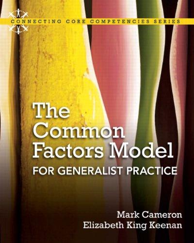 9780205592692: The Common Factors Model for Generalist Practice
