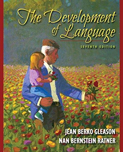 9780205593033: The Development of Language (7th Edition)