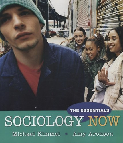 9780205593101: Sociology Now: The Essentials
