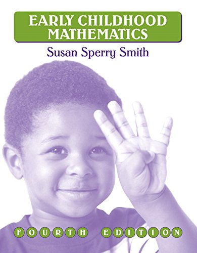 9780205594283: Early Childhood Mathematics (4th Edition)