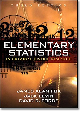 9780205594399: Elementary Statistics in Criminal Justice Research (3rd Edition)