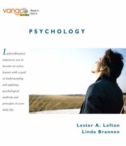9780205595310: Psychology, VangoBooks