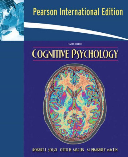 9780205596607: Cognitive Psychology: International Edition