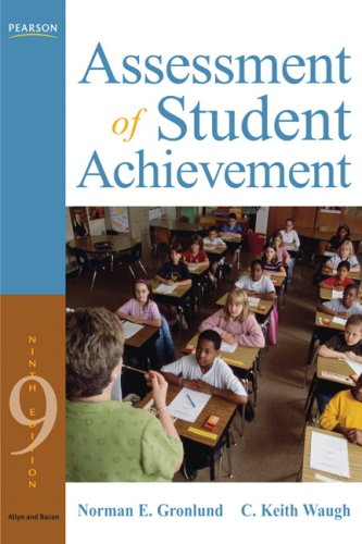 9780205597284: Assessment of Student Achievement (9th Edition)