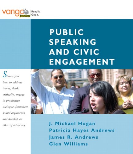 Public Speaking and Civic Engagement: James R. Andrews;