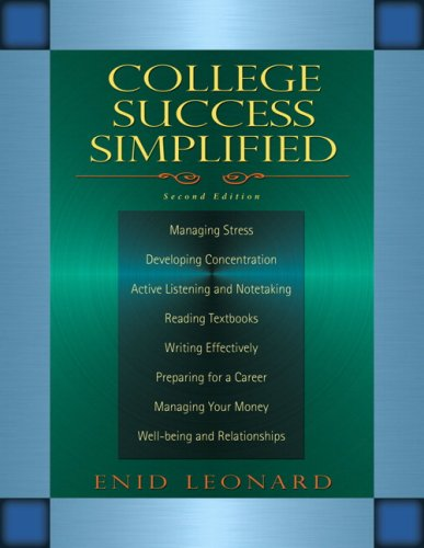 9780205604968: College Success Simplified (2nd Edition)