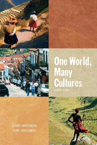 9780205605453: One World, Many Cultures (7th Edition)