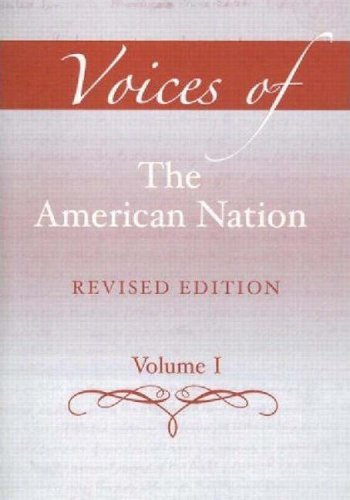 9780205606146: Voices of the American Nation, Revised Edition, Volume 1 (13th Edition)