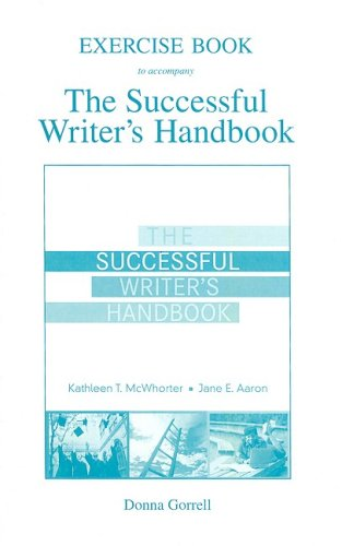 9780205606559: Exercise Booklet for The Successful Writer's Handbook
