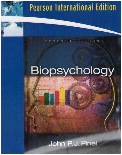 9780205607501: Biopsychology: International Edition