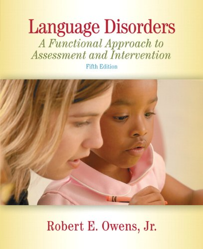 Language Disorders in Children: Fundamental Concepts of