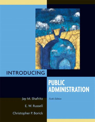 Introducing Public Administration: E. W. Russell;