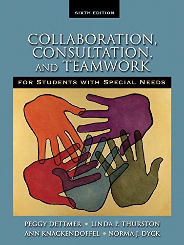 9780205608379: Collaboration, Consultation and Teamwork for Students with Special Needs (6th Edition)