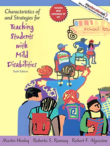 9780205608386: Characteristics of and Strategies for Teaching Students with Mild Disabilities (6th Edition)