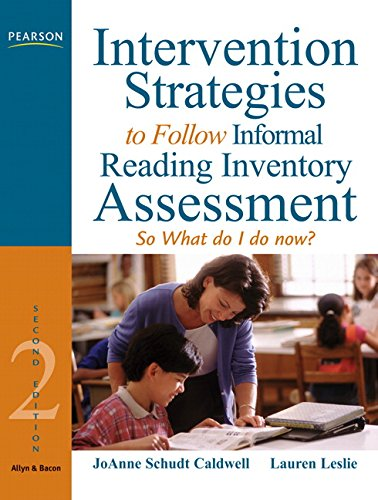 9780205608553: Intervention Strategies to Follow Informal Reading Inventory Assessment: So What Do I Do Now? (2nd Edition)