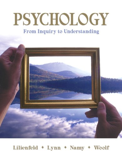 9780205608904: Psychology: From Inquiry to Understanding (paperbound)
