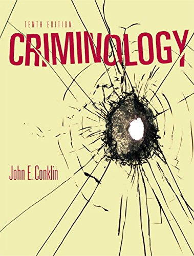 9780205608966: Criminology