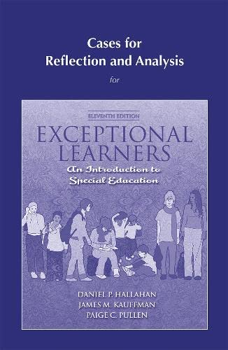 9780205609659: Cases for Reflection and Analysis for Exceptional Learners: Introduction to Special Education (11th Edition)